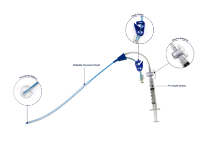 HSG Flexible Catheter with Information